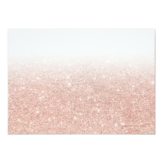 Rose gold glitter ombre will you be my bridesmaid card Zazzle - Create Your Own Wall Stickers