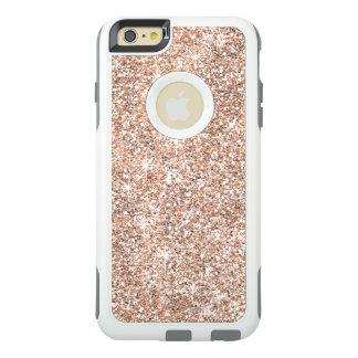 Rose Gold Glitter Pastel Otterbox iPhone 6 Case
