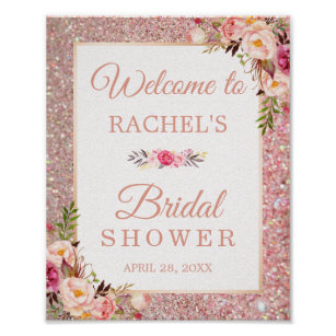 bridal shower posters design for your bridal shower today zazzle