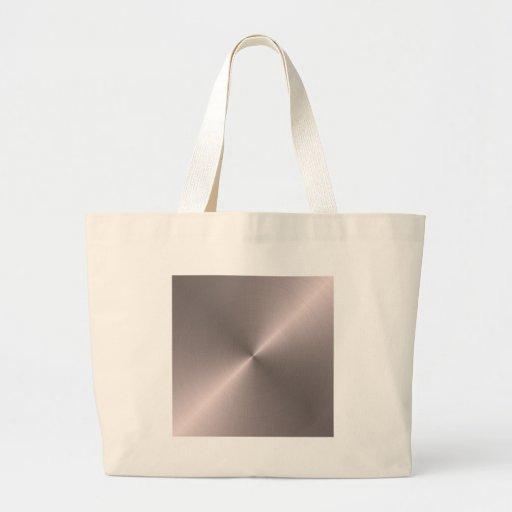 Rose Gold Jumbo Tote Bag