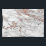 """Rose Gold Marble Kitchen Towel<br><div class=""""desc"""">Rose Gold Marble Kitchen Towel</div>"""