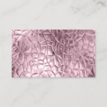 Rose gold,metallic,golden,shine,glam,chic,beautifu referral card