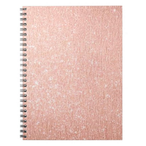 15 Best Images About Notebook Covers Wallpaper Etc On: Rose Gold NoteBook