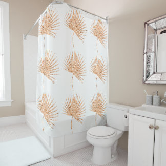 Metallic Gold Shower Curtains | Zazzle