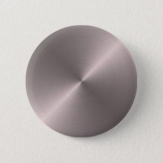 Rose Gold Pinback Button