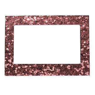 gold glitter magnetic picture frames zazzle. Black Bedroom Furniture Sets. Home Design Ideas