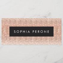 Rose Gold Salon Sequin Gift Certificate