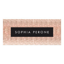 Rose Gold Salon Sequin Gift Certificate