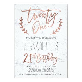 21st Birthday Invitations & Announcements | Zazzle