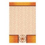 Rose Gold Unicursal Custom Stationery