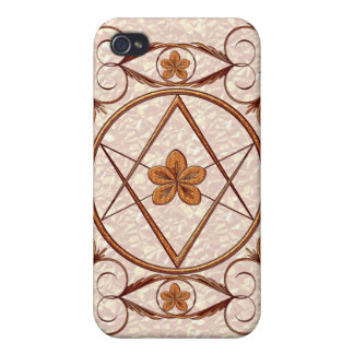 Rose Gold Unicursal Covers For iPhone 4