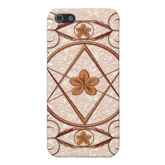 Rose Gold Unicursal iPhone SE/5/5s Case