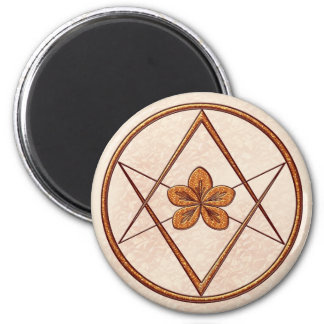 Rose Gold Unicursal Magnet
