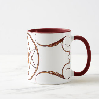 Rose Gold Unicursal Mug