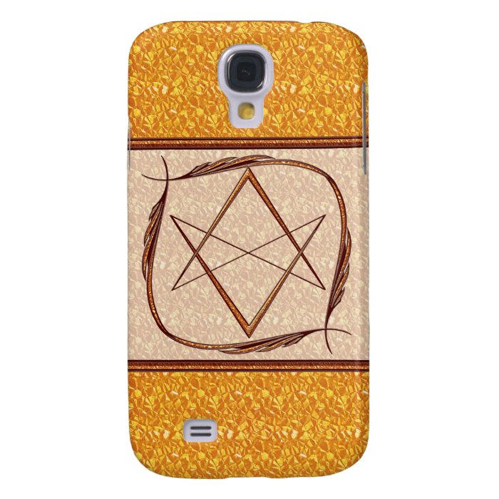 Rose Gold Unicursal Samsung S4 Case