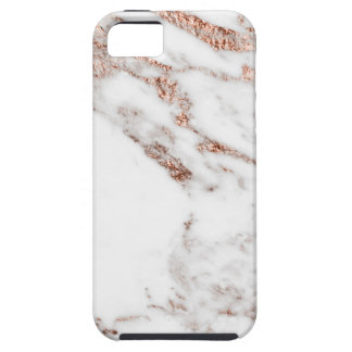 Rose gold vein marble iPhone SE/5/5s case