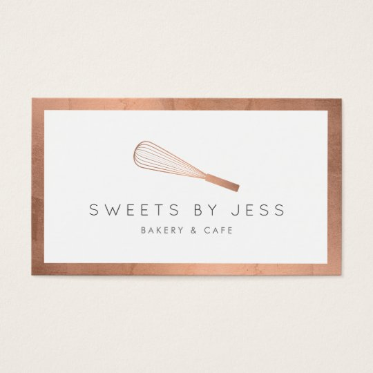 Baking Business Cards Templates Zazzle