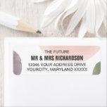Rose, Grape & Sage Wedding Return Address Labels