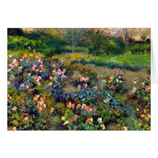 Rose grove by Pierre Renoir Stationery Note Card