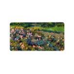 Rose grove by Pierre Renoir Custom Address Labels