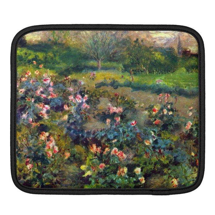 Rose grove by Pierre Renoir iPad Sleeves