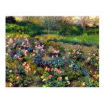Rose grove by Pierre Renoir Post Card