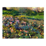 Rose grove by Pierre Renoir Post Cards