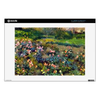 Rose grove by Pierre Renoir Laptop Skins