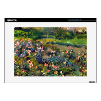 """Rose grove by Pierre Renoir Decal For 15"""" Laptop"""
