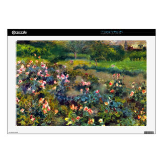 Rose grove by Pierre Renoir Decal For Laptop