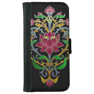Rose guild wallet phone case for iPhone 6/6s