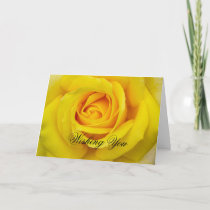 Rose Happy Birthday Mom Card