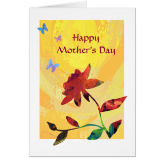 Rose Happy Mother's Day Cards
