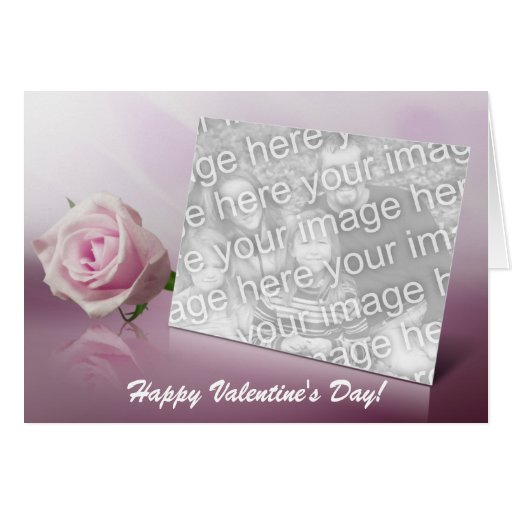 Rose Heart Card Template 1