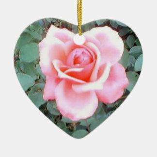 ROSE Heart Ornament tree hanging