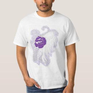 Rose Heart Purple T-Shirt