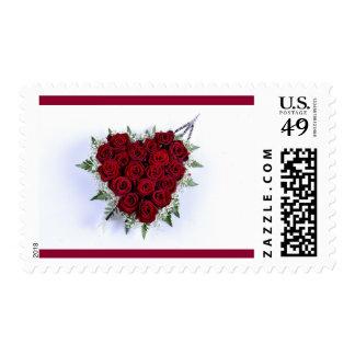Rose Heart stamp