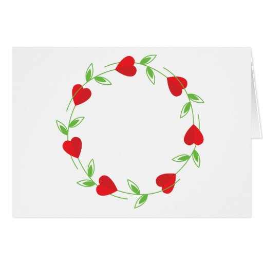Rose Hearts Card