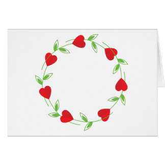 Rose Hearts Greeting Card