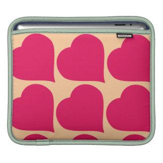 Rose Hearts iPad sleeve