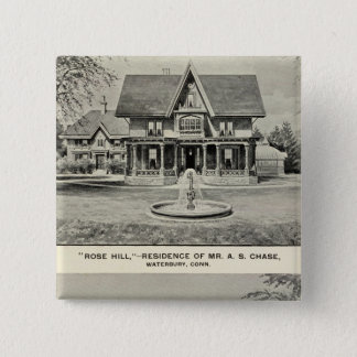 Rose Hill, Judd residence Pinback Button