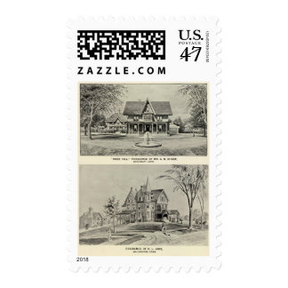 Rose Hill, Judd residence Postage