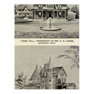 Rose Hill, Judd residence Postcard