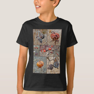 Rose Hip Collage T-Shirt