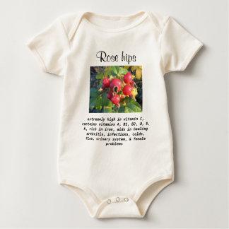 Rose hips infant onsie creeper