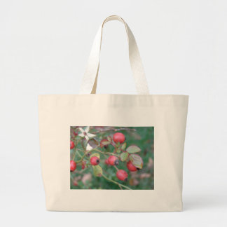 Rose Hips Large Tote Bag