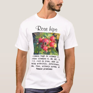 Rose hips mens shirts