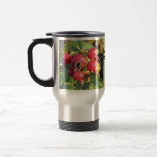 Rose hips travel mug