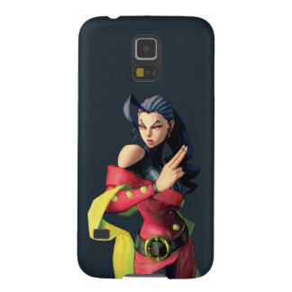 Rose Holding Up Two Fingers Galaxy S5 Case