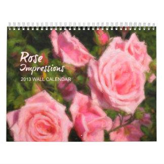 Rose Impressions Calendar 2013